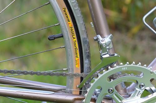 Refurbished Shogun, Panaracer Pasela Tires