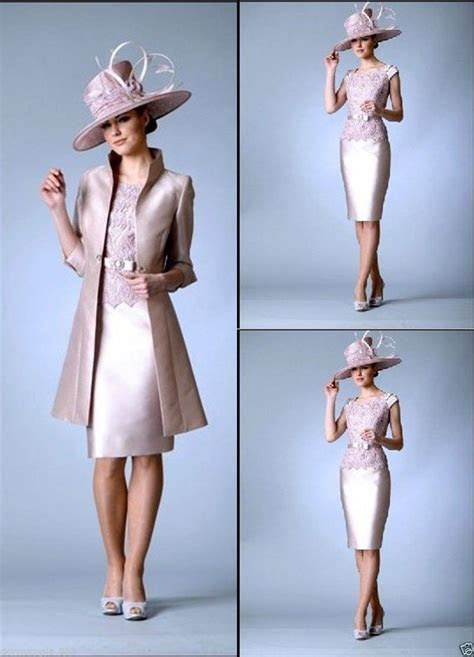 2015 Custom Made Mother of The Bride Dresses Knee Length