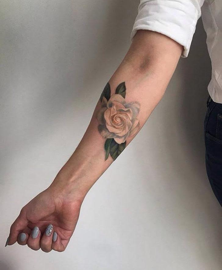 Rose Tattoo On Forearm Best Tattoo Ideas Gallery