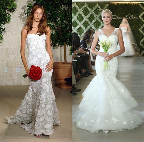 Oscar de la Renta wedding dresses   HELLO!