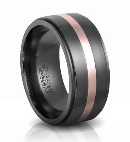 General Valentine » Black Titanium Wedding Bands by Edward