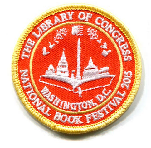 2015 National Book Festival Patch