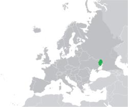 Stato federale della Nuova Russia - Localizzazione