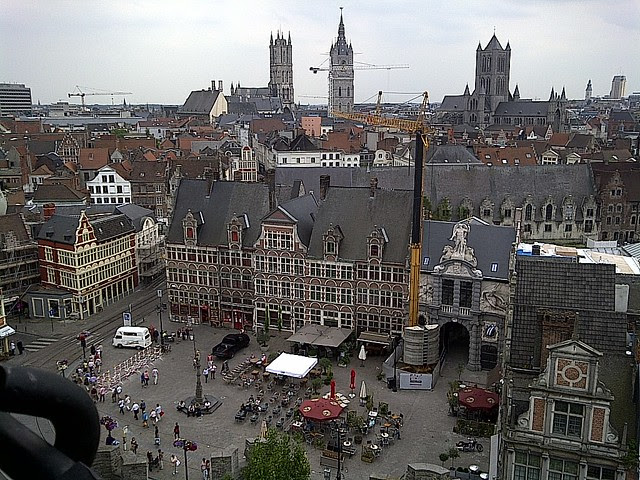 View from Castle of the Counts