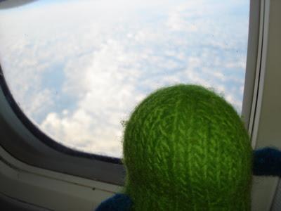 Henry's first trans-Atlantic flight