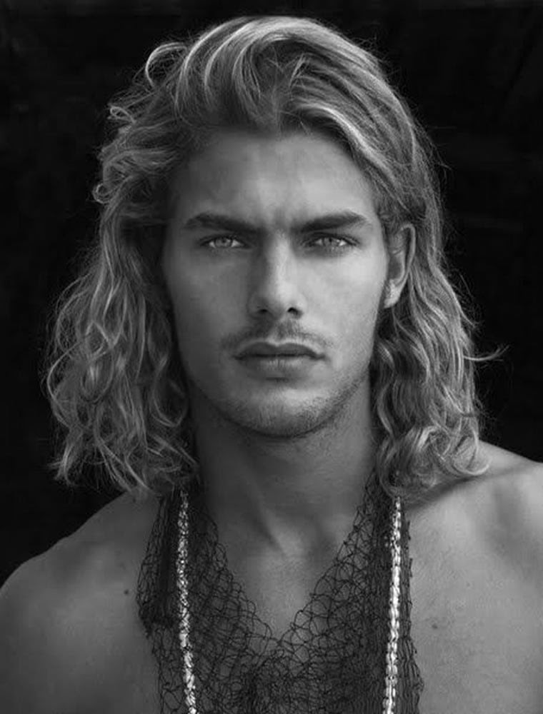 Medium Length Mens Long Hairstyles 2019 35