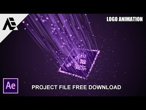 After Effects Tutorial: Particle Logo Animation (Project Free Download)