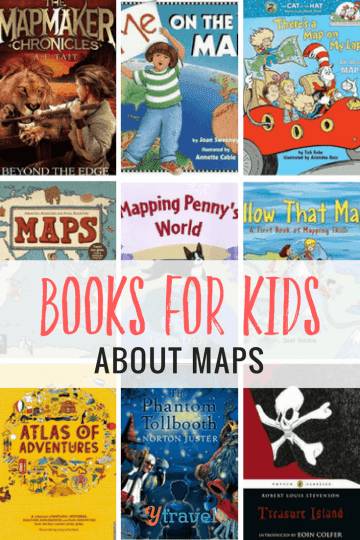 12 Books For Kids About Maps