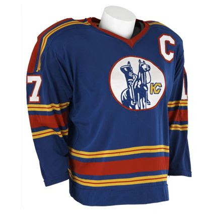 Kansas City Scouts 74-75 jersey