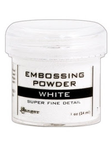 Ranger Embossing Powder SUPER FINE WHITE EPJ36678