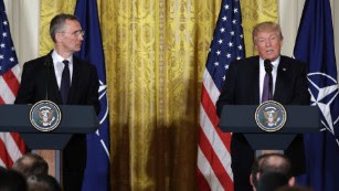 How Donald Trump came to love NATO