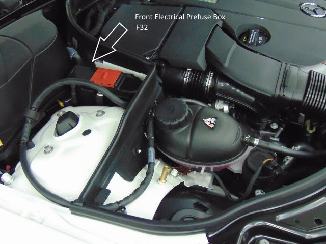 Fuses Location Chart Diagram 2010 2016 Benz E Class W212 Mb Medic