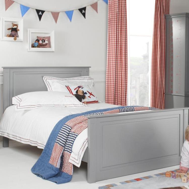 Archie High Foot End Small Double Bed | Boys Beds | Kids ...