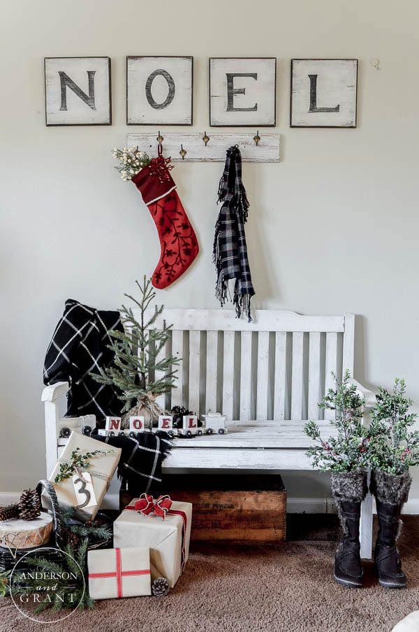 Cozy Christmas Decor  Dandelion Patina
