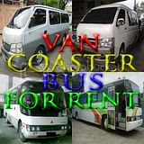 Van, Coaster, and Bus For Rent