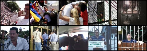 Angel Santiesteban Leopoldo López presos politicos Cuba Venezuela