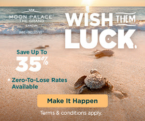 Cyber Monday Savings at The Grand at Moon Palace. Online & off the charts!