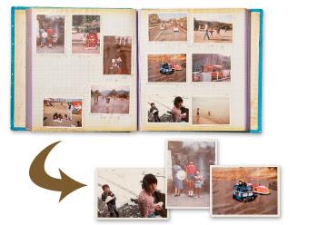 写真アルバムのDVDデータ化、デジタル化サービス 富士フイルム - 写真データ アルバム