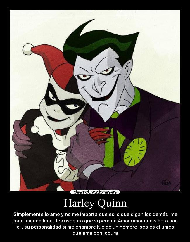 Harley Quinn Desmotivaciones