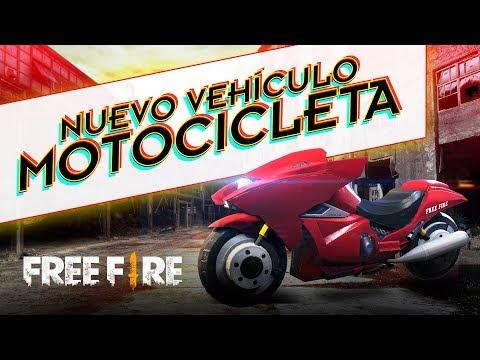 Veja a nova moto do Free Fire