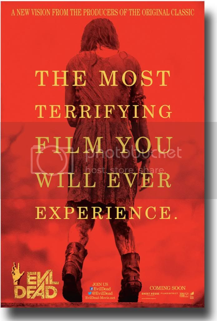 Evil Dead photo: Evil Dead Red Theatrical Double Sided B EvilDeadTheatricalRedDoubleSidedB.jpg