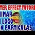 After Effect tutorial   animar un logo con partículas