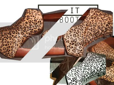 Jeffrey Campbell cheetah ankle boot