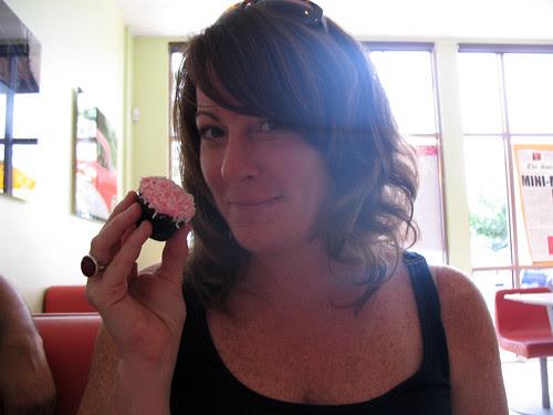 Snowball Cupcake II