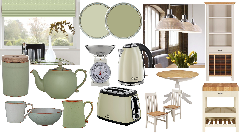 Home Living Blog Sage Green Walls Cream Kitchen