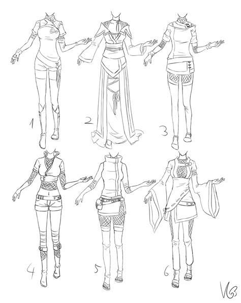 ninja ish outfits  kohane chan      draw
