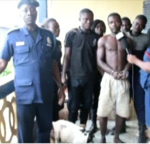 Ghanaian Man Arrested After He Was Caught Having Sex With A Goat (Photos)