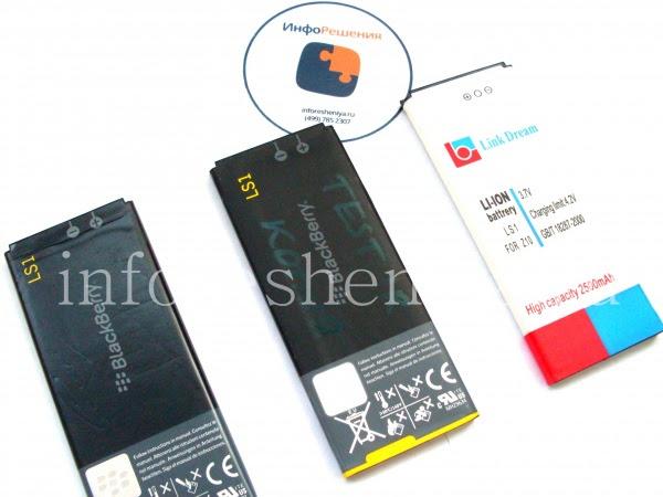 Сравнение аккумуляторных батарей для BlackBerry Z10 (тип L-S1)