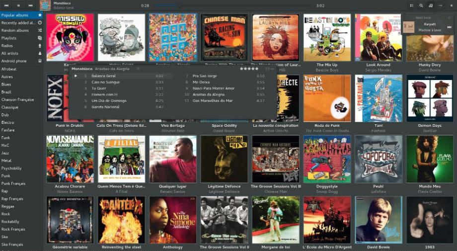 Lollypop Pemutar Musik Terbaik Di Linux Ubuntu
