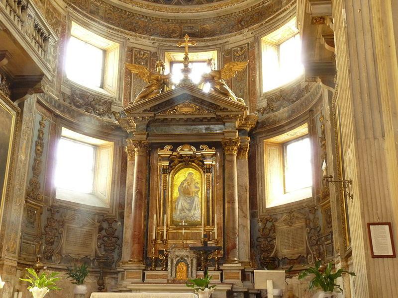 Fil: Santa Maria della Consolazione Roma - interiör 2.JPG