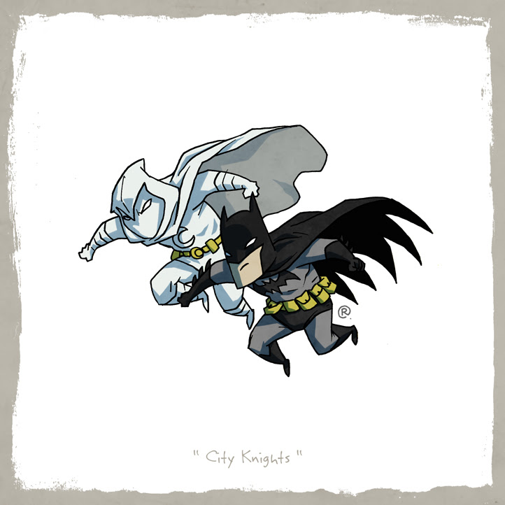 Batman y Moon Knight