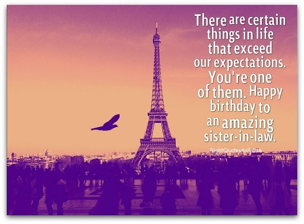 Happy Birthday Wishes For Sister In Law Birthday Messages Quotes