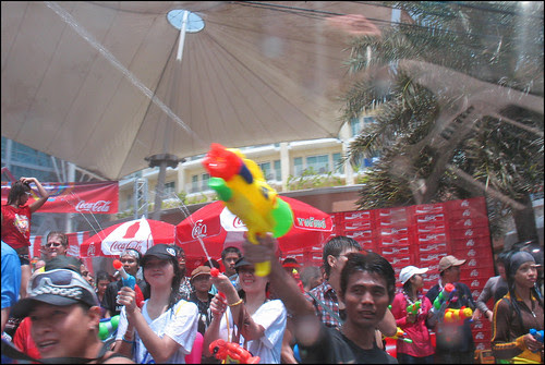 Shooting a Big (Water) Gun - Songkran 2009, Patong Beach Phuket