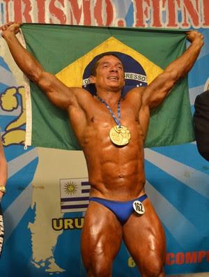 Potiguar Carlos Oliveira, fisiculturismo (Foto: Divulgação)