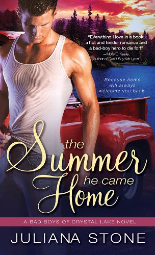 Summer He Came Home (Bad Boys of Crystal Lake) by Juliana Stone