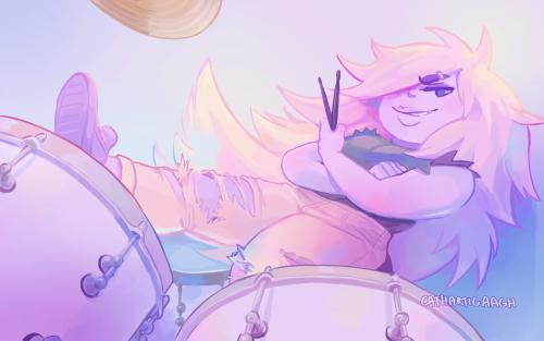 Amethyst the drummer