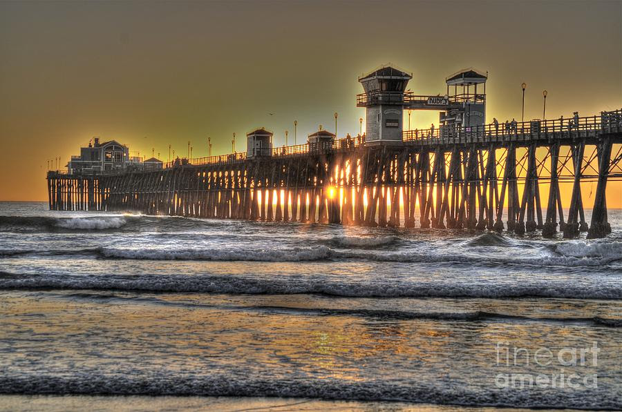 oceanside pier hdr bridgette gomes