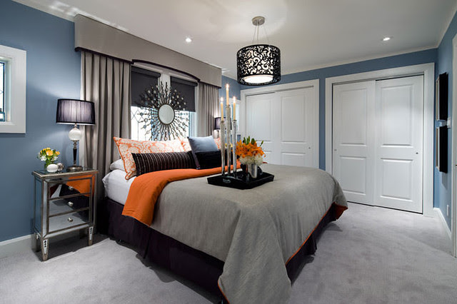 Best Picture of Blue Grey Bedroom | Sharon Norwood Journal