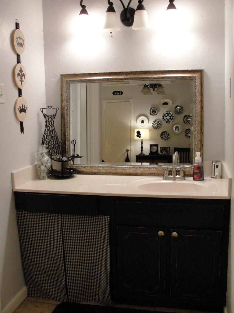 Amanda's Distressed Bathroom Cabinet Tutorial | The CSI ...