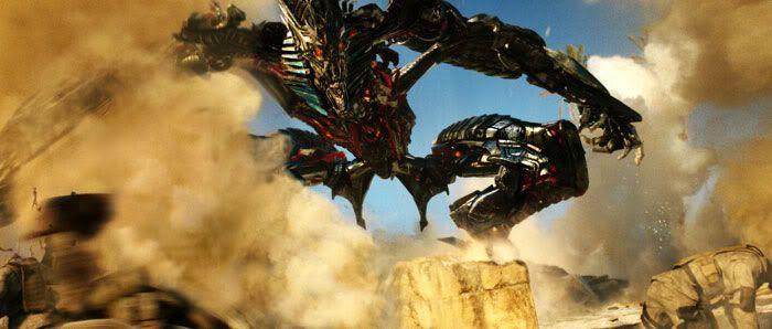 The Fallen prepares to wreak havoc in TRANSFORMERS: REVENGE OF THE FALLEN.