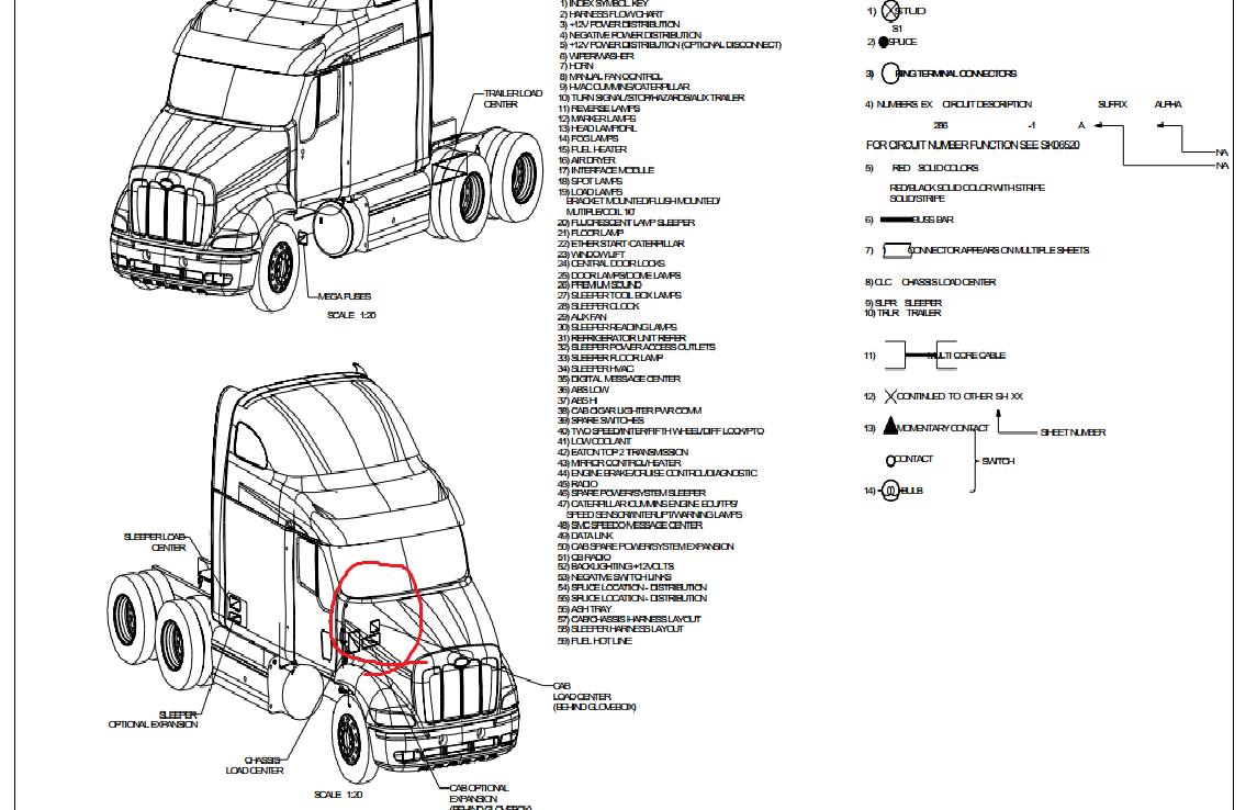 Kenworth T800 Wiring Diagram