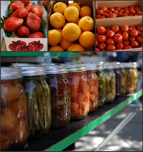 at the Oro Valley farmers' market