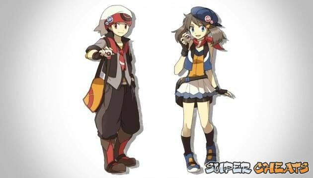 Main Characters  Pokemon Omega Ruby