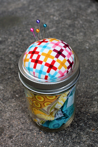Pincushion Jar by jenib320