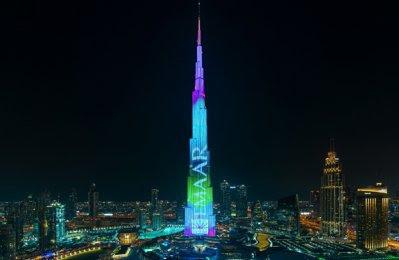Dubais Burj Khalifa To Showcase New Visual Spectacle