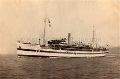 VASNA at sea as a Hospital Ship
